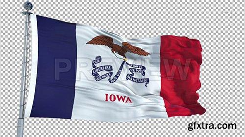 Iowa Flag 73925