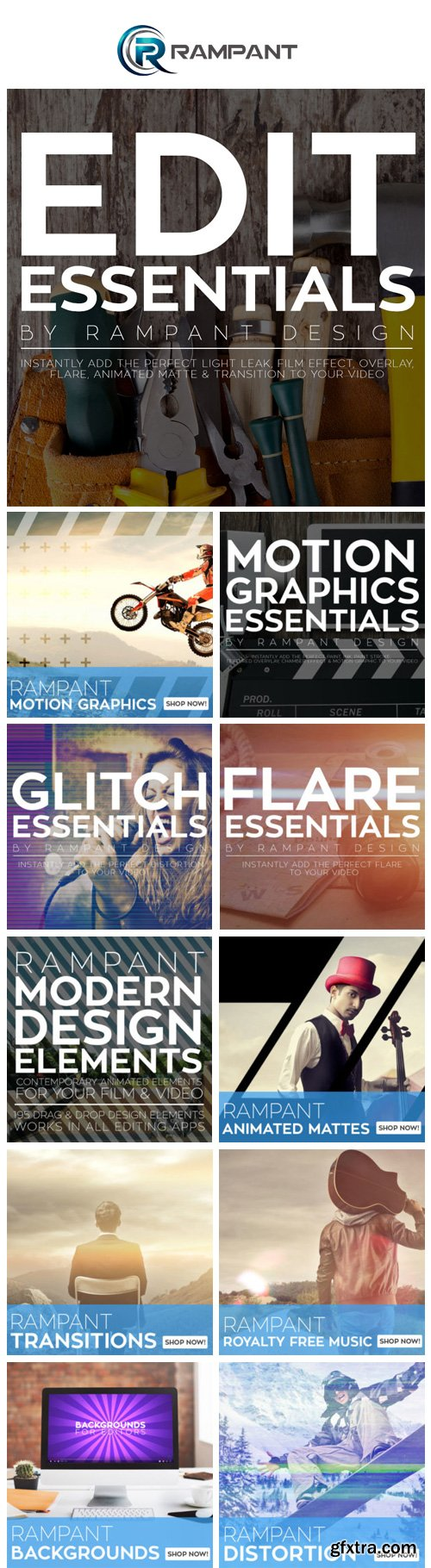 Rampant Design Tools Full Collections
