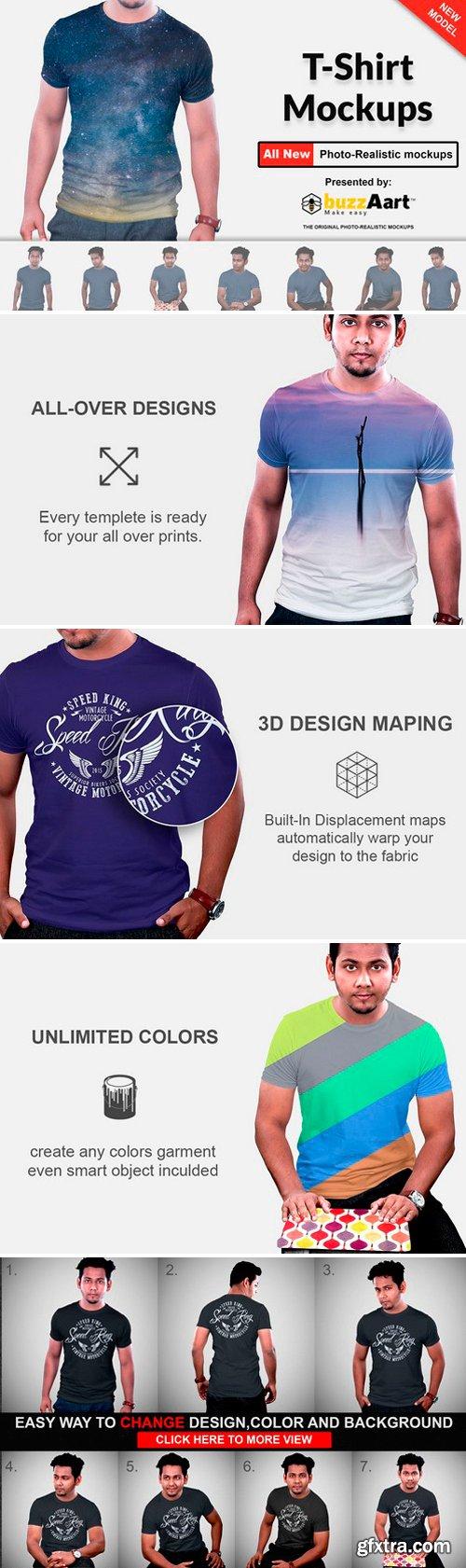 CM - Tshirt Mockups Man Version Vol-1.1 2487659
