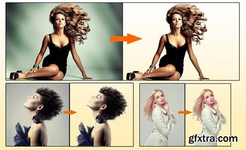 Masking Women Hair in Photoshop (5 Projects Included)