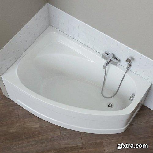 Mystery Bathtubs Kolo 3d Model