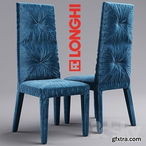 Table and chair by Longhi 3d Model