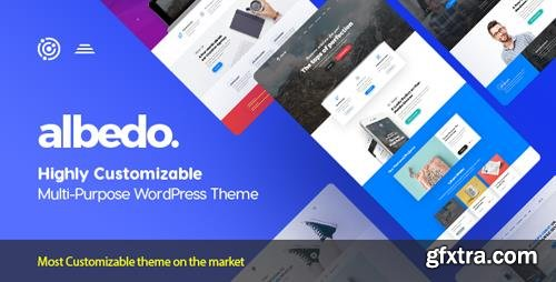 ThemeForest - Albedo v1.0.26 - Highly Customizable Multi-Purpose WordPress Theme - 20386924