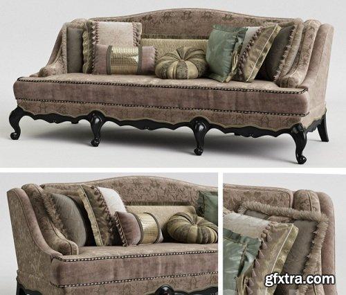 Provasi PR 1201-720 Darcy Sofa 3D Model