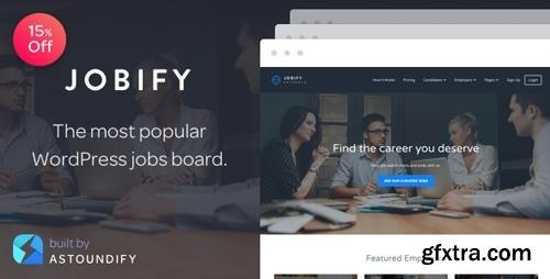 ThemeForest - Jobify v3.9.0 - The Most Popular WordPress Job Board Theme - 5247604