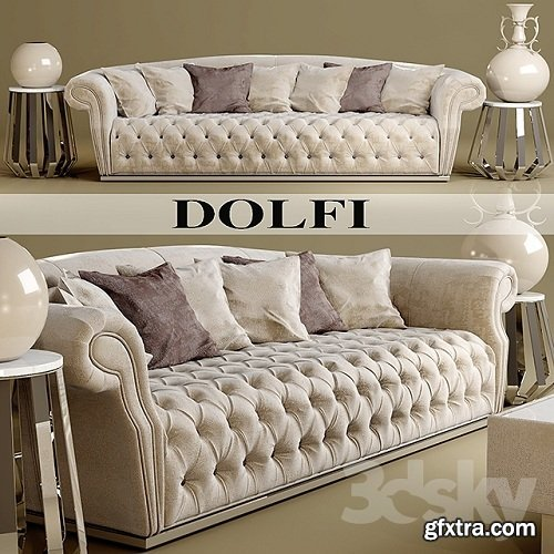 Sofa Dolfi 3d Model