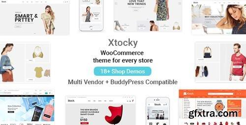 ThemeForest - Xtocky v1.1.7 - WooCommerce Responsive Theme - 20528207