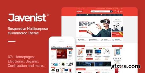 ThemeForest - Javenist v1.1 - Multipurpose eCommerce WordPress Theme - 21257842