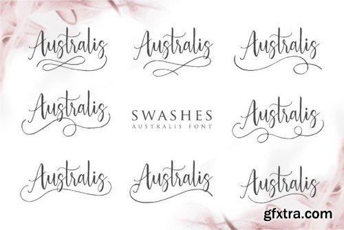 Australis Font Family - 2 Fonts