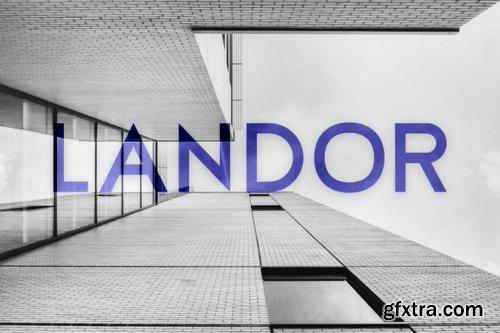 Landor Font