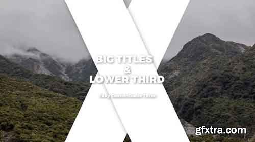 Big Titles & Lower Thirds II - After Effects 83166