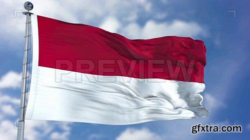 Indonesia Flag Animation 73608