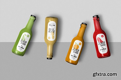 Awesome Juice Bottle Mockup
