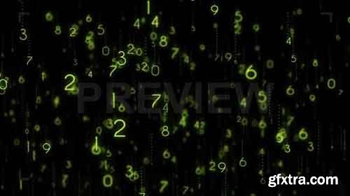 Number Codes Background - Motion Graphics 83596