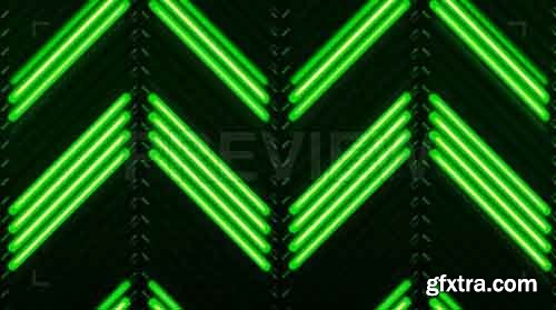 Ascending Florescent VJ Background - Motion Graphics 83352