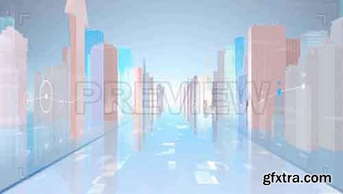 Statistics And City Background - Motion Graphics 83463