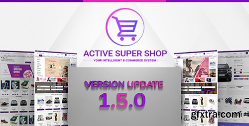 CodeCanyon - Active Super Shop Multi-vendor CMS v1.4.10 - 12124432 - NULLED