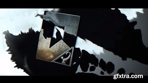 3D Ink Logo Reveal - After Effects 84017