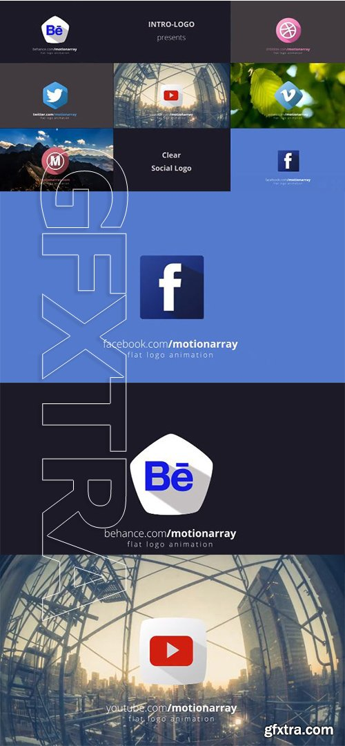 Clear Social Logo - After Effects 84010