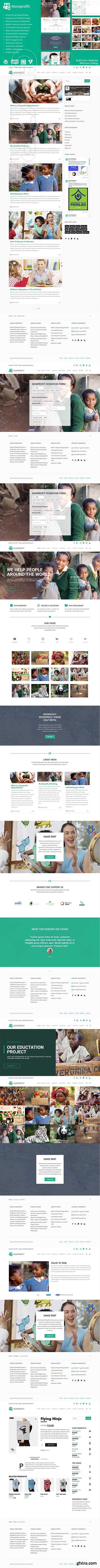CreativeMarket - Nonprofit WordPress Theme 2549356