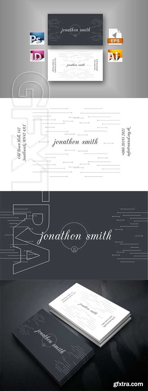 CreativeMarket - Personal Business Card 2582210