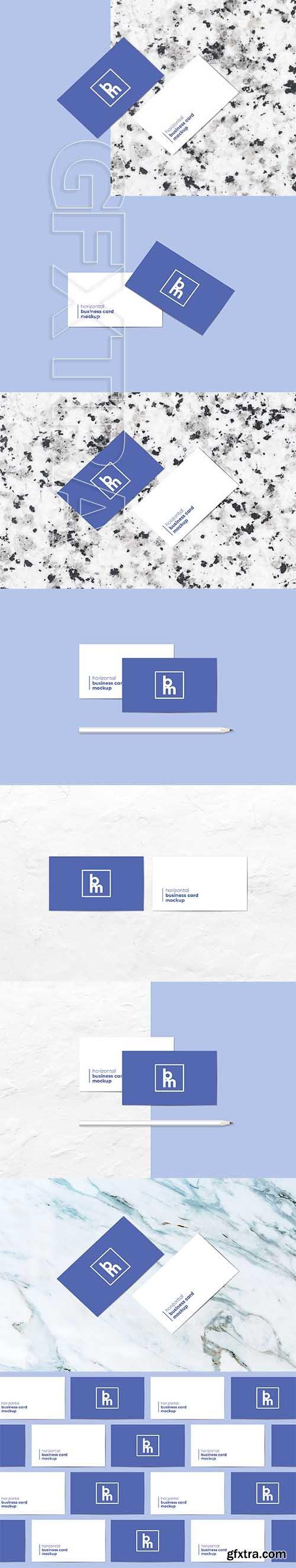 CreativeMarket - Business Card Mockup 2580548