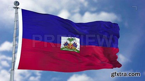 Haiti Flag Animation 73515