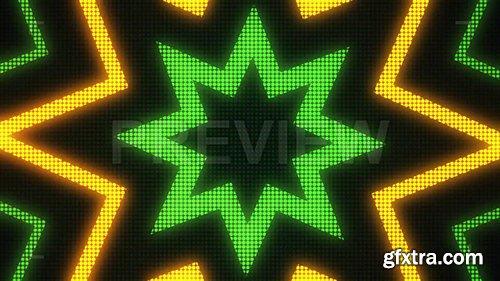 Star Disco LED VJ Background 82773