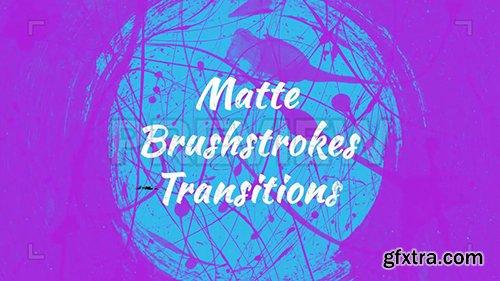 Matte Brushstrokes Transitions 82799