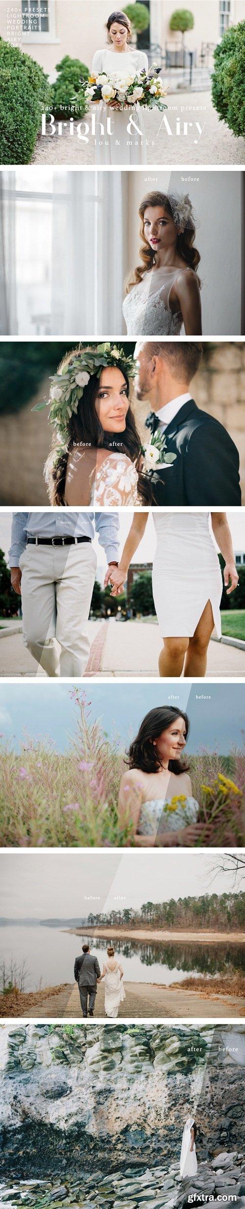 Bright & Airy Wedding Lightroom Kit