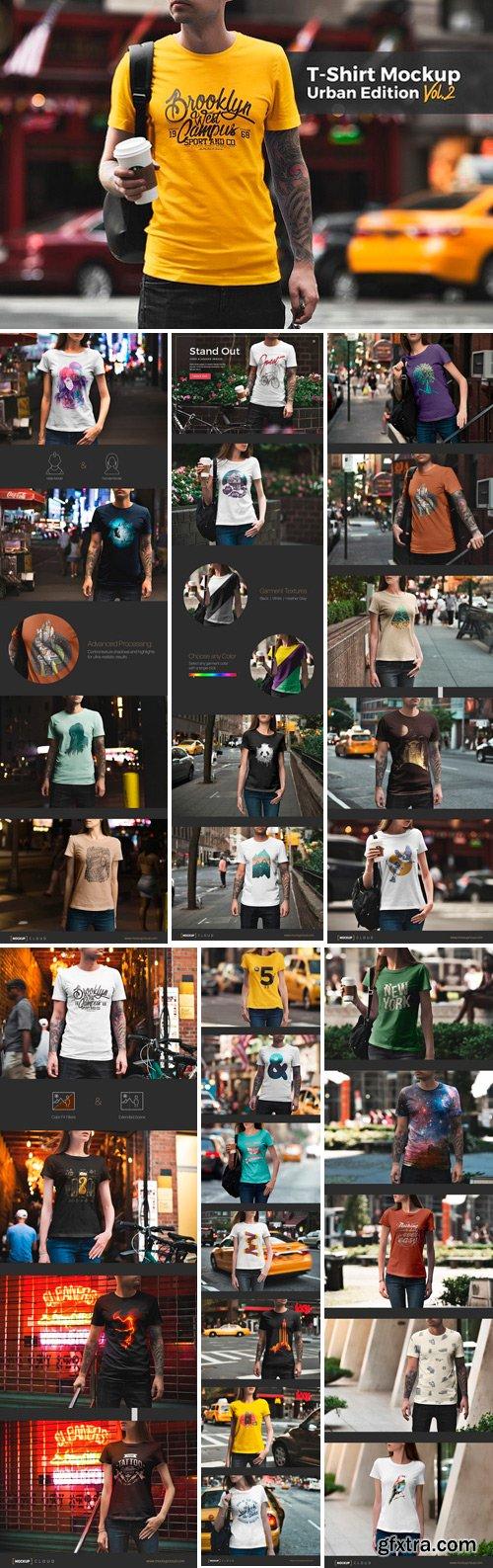 CM - T-Shirt Mockup / Urban Edition 1664349