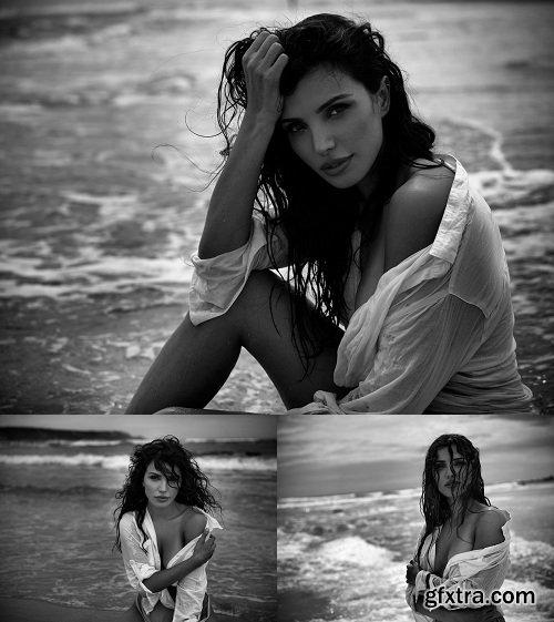Peter Coulson Photography - Retouching - Tanya - Beach