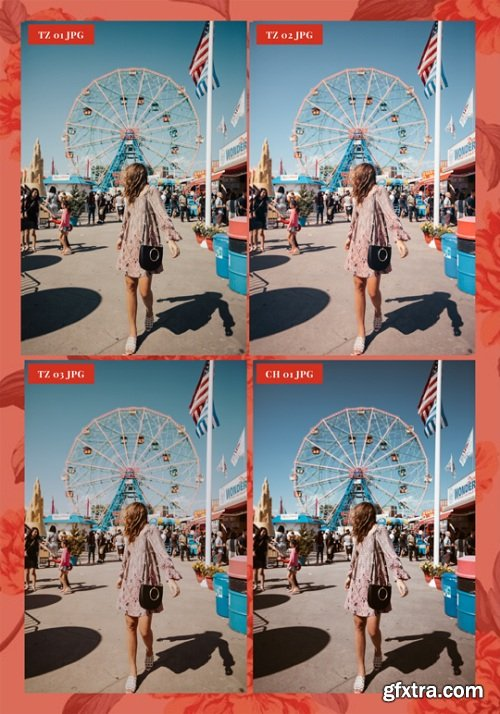 TEZZA - The JPEG Combo Lightroom Presets Pack
