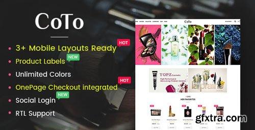 ThemeForest - Coto v1.0.0 - Beauty & Spa Store OpenCart 2.3 Theme - 19830953