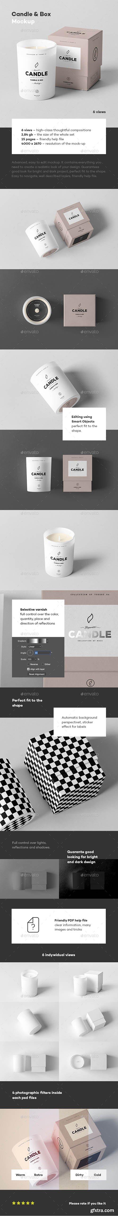 Candle & Box Mock-up 22011958