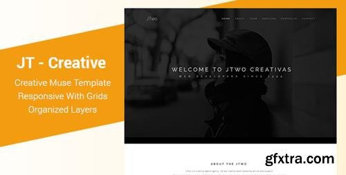 ThemeForest - JT v1.0 - Creative One Page Muse Template - 21803815