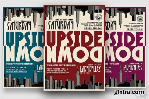 GraphicRiver - Upside Down Flyer Template 14327044
