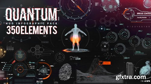 Videohive - Quantum HUD Infographic V2 (Updated 17 April 2018) - 8678174