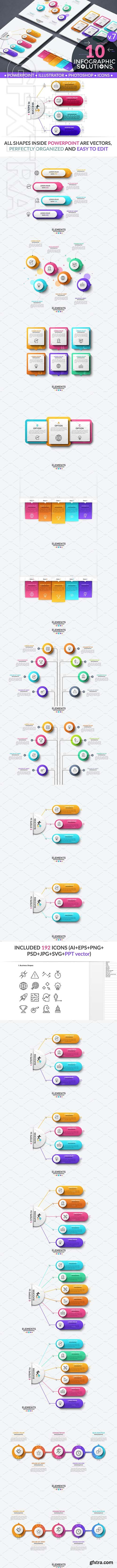 CreativeMarket - Infographic Solutions Part 7 2578259