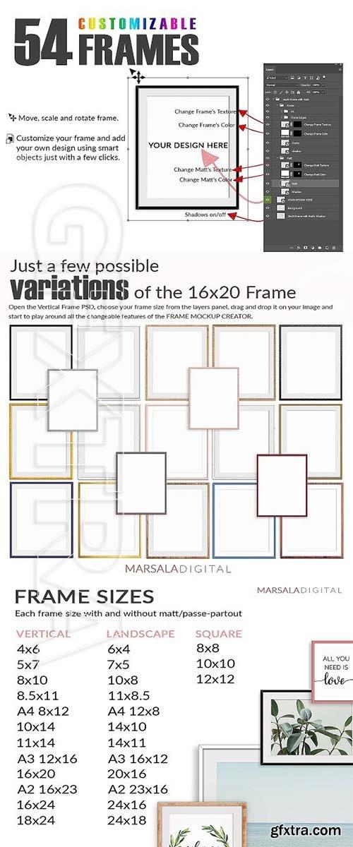 CreativeMarket - Frame Mockup Creator 2578655