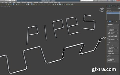 MCG Pipes for 3ds Max 2016/18