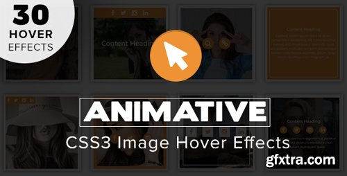 CodeCanyon - Animative v1.0 - CSS3 Image Hover Effects - 21663651