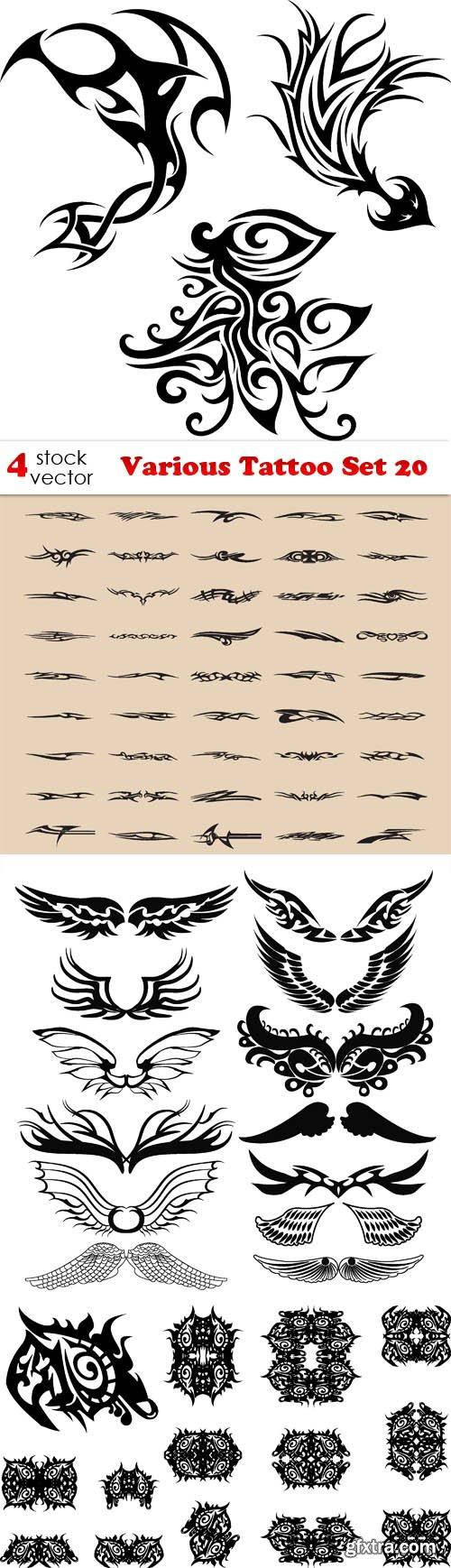 Vectors - Various Tattoo Set 20
