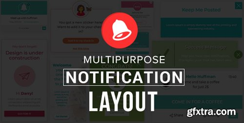 CodeCanyon - Multipurpose Notification Layout (Update: 22 March 18) - 21457278