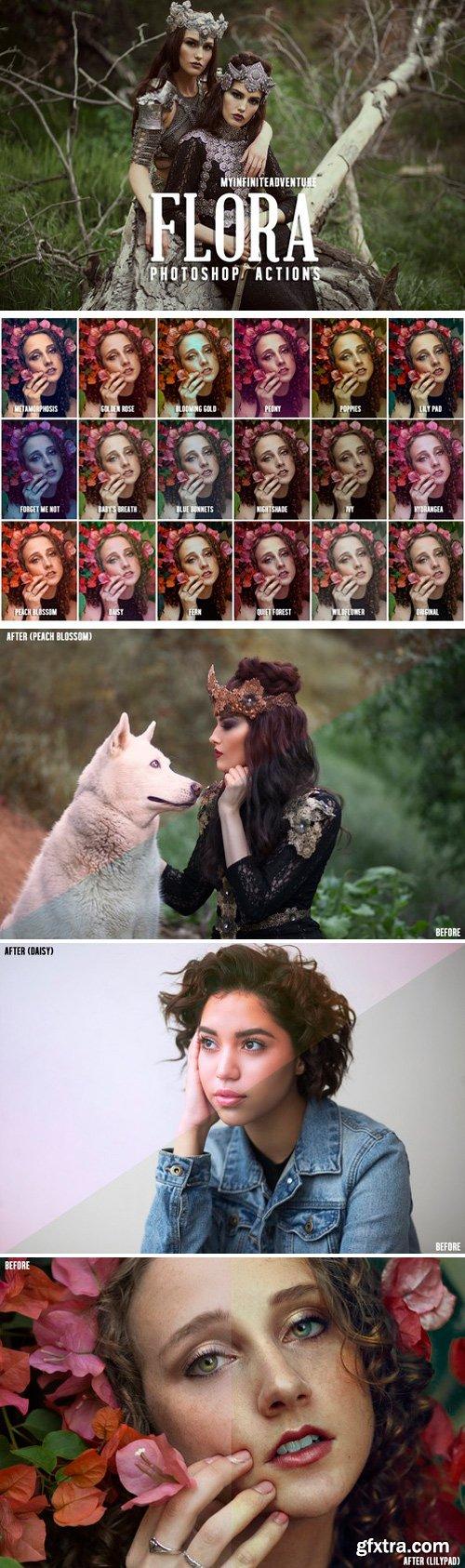 CM - Flora Photoshop Actions 2516294