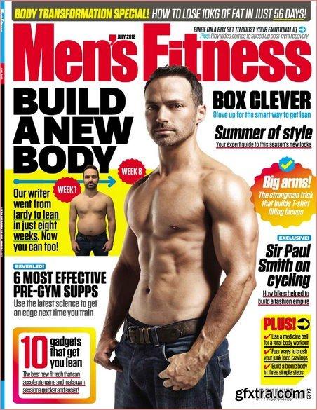 Men's Fitness UK – July 2018