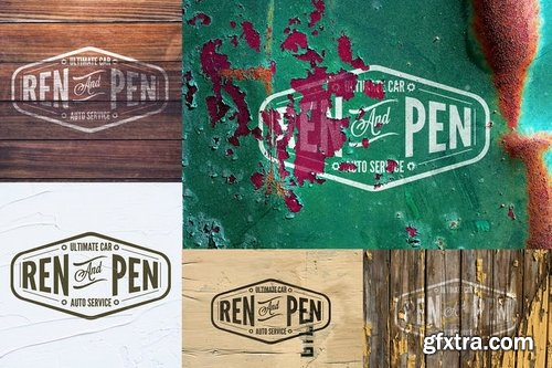 10 PSD Mock Up Real Effect Vol 05
