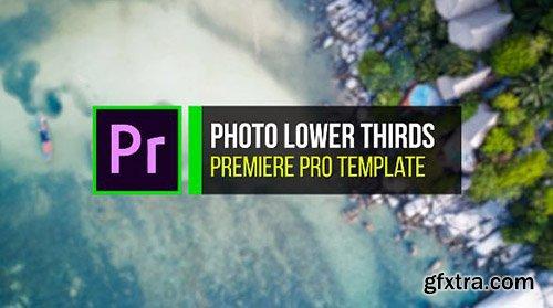 Photo Lower Thirds - Premiere Pro Templates 84733