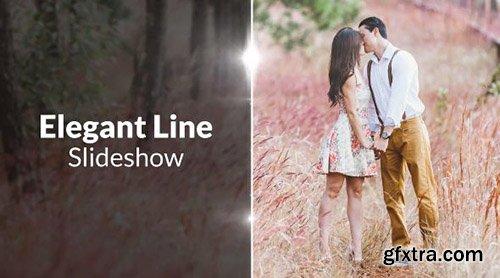 Elegant Lines Slideshow - Premiere Pro Templates 85098