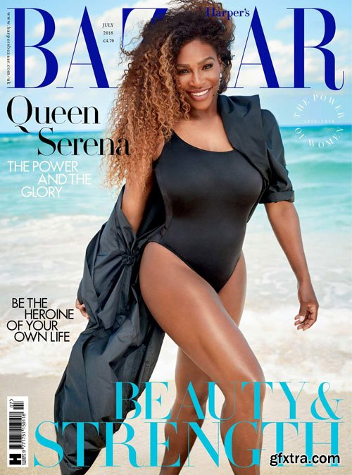 Harper\'s Bazaar UK - July 2018